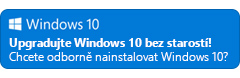 Upgradujte na Windows 10