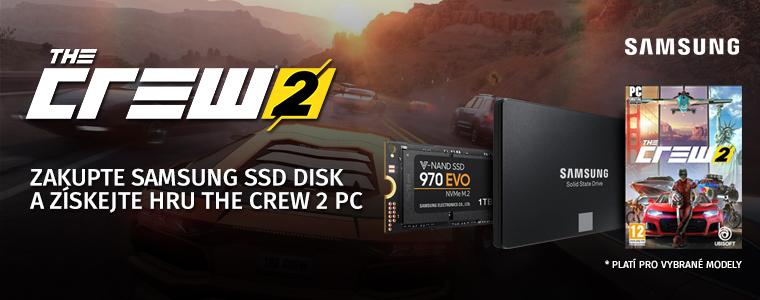 Samsung SSD The Crew 2